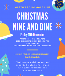 Christmas Nine & Dine